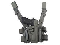 BlackHawk Tactical Serpa Thigh Holster Right Hand Beretta 92 Polymer Foliage Green
