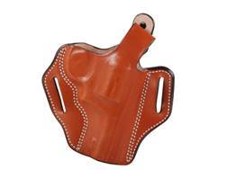 "DeSantis Thumb Break Scabbard Belt Holster Right Hand Smith & Wesson K-Frame 10, 12, 13, 15, 19, 64, 65, 66 3"" Barrel Leather"