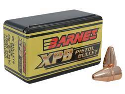 Barnes XPB Handgun Bullets 500 S&W (500 Diameter) 325 Grain Solid Copper Hollow Point Lead-Free Box of 20