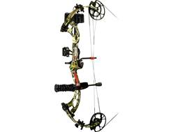 """PSE Brute Force Compound Bow Package Right Hand 25""""-31"""" Draw Length Mossy Oak Country Camo"""