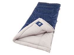 Coleman Brazos 20-40 Degree Sleeping Bag Polyester Blue