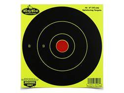 "Birchwood Casey Dirty Bird Yellow 6"" Bullseye Targets Package of 100"