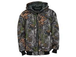 Walls Legend Men's Insulated Quilted Fleece Jacket Cotton Polyester Blend Realtree Xtra Camo