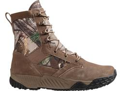 """Under Armour UA Jungle Rat 8"""" Uninsulated Tactical Boots Leather and Nylon Realtree Xtra Men's"""