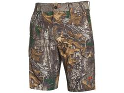 "Under Armour Men's UA Camo Fish Hunter Cargo Shorts Polyester Blend 21"" Outseam"