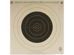 NRA Official Smallbore Rifle Training Targets TQ-4 100 Yard Tagboard Pack of 100