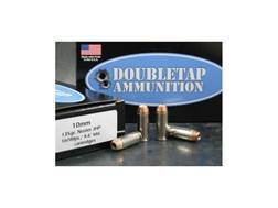Doubletap Ammunition 10mm Auto 135 Grain Nosler Jacketed Hollow Point Box of 20