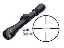 Leupold VX-2 Ultralight Rifle Scope 3-9x 33mm Custom Dial System (CDS) Wide Duplex Reticle Matte