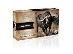 Norma African PH Ammunition 375 H&H Magnum 350 Grain Woodleigh Full Metal Jacket Box of 10