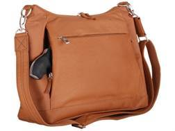 Gun Tote'N Mamas Large Hobo Handbag Leather Tan