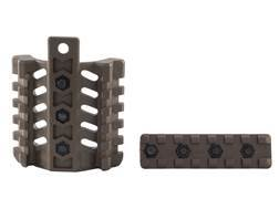 Command Arms 3-Rail Mounting System Fits AR-15 2-Piece Polymer Handguards Polymer Green