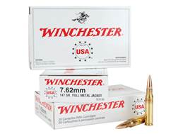 Winchester Ammunition 7.62x51mm NATO 147 Grain Full Metal Jacket