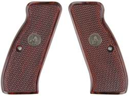 Pachmayr Renegade Laminated Grip CZ 75, 85 Checkered Rosewood
