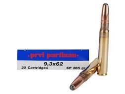 Prvi Partizan Ammunition 9.3x62mm Mauser 285 Grain Soft Point Box of 20