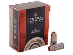 Federal Premium Personal Defense Ammunition 45 ACP 230 Grain Hydra-Shok Jacketed Hollow Point Box of 20