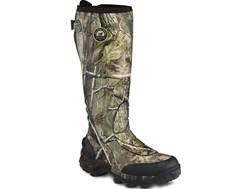 "Irish Setter Rutmaster 17"" Waterproof Uninsulated Hunting Boots Rubber Realtree Camo Men's 10 E"