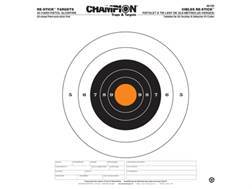 "Champion Re-Stick 25 Yard Pistol Slowfire Self-Adhesive Targets 14.5"" x 14.5"" Paper Pack of 25"