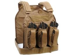 US Palm AK47 Defender Series Soft Body Armor Level IIIA Front Panel 500D Cordura Nylon Coyote%XA0Extra Large