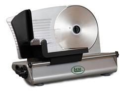 "LEM 8.5"" Electric Meat Slicer Aluminum"