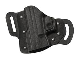 DeSantis Intimidator 2.0 Belt Holster Left Hand S&W M&P Shield 45 ACP Kydex and Leather Black