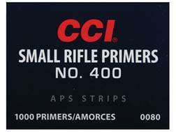 CCI Small Rifle APS Primers Strip #400 Box of 1000 (40 Strips of 25)