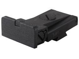 Kensight Adjustable Rear Sight 1911 Kimber Cut Steel Black Rounded Blade Fully Serrated