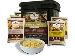 Wise Food Grab N' Go Freeze Dried Food 84 Serving Bucket