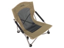 ALPS Mountaineering Rendezvous Low-Profile Folding Chair Steel and Polyester Khaki