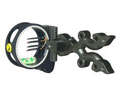 "Trophy Ridge Outlaw 4-Pin Bow Sight with Light .019"" Pin Diameter Black"