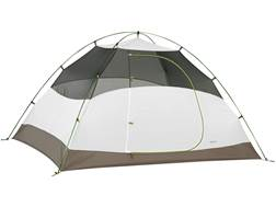 "Kelty Salida 4 4 Man Dome Tent 99"" x 80"" x 56"" Polyester White and Lime Green"