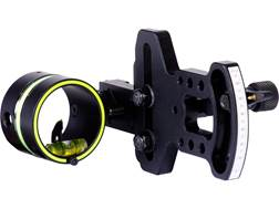 "HHA Sports Optimizer Lite 5000 1-Pin Bow Sight with Scope .029"" Pin Diameter Right Hand Aluminum Black"