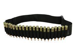 MidwayUSA Rifle Ammuntion Belt 20-Round Black