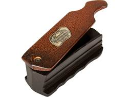 FoxPro Rude Snood Crackle Finish Walnut Box Turkey Call