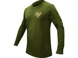 Natural Gear Men's Deer Logo T-Shirt Long Sleeve Tri-Blend