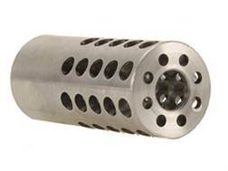 "Vais Muzzle Brake Micro 284 Caliber, 7mm 1/2""-32 Thread .750"" Outside Diameter x 1.750"" Length"