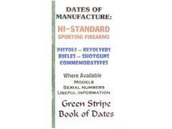 "Green Stripe Data Books ""Hi-Standard"" Book by Firing Pin Enterprises"