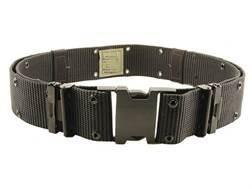 "Bianchi M1020 Web Pistol Belt 2-1/4"" Polymer Buckle Nylon Black"