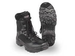 "Voodoo Tactical 9"" Tactical Boots Leather Black Men's 9-1/2 D"
