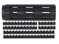 Advanced Technology Free Float Modular Rail Handguard 8-Sided with Combo Accessory Rail Package AR-15 Carbine Length Aluminum Black
