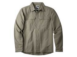 Mountain Khakis Men's Granite Creek Shirt Long Sleeve Nylon Truffle XXL 49-51