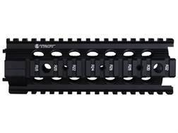 "Troy Industries 7"" MRF-C Battle Rail Free Float Quad Rail Handguard AR-15 Black"