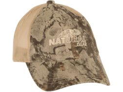 Natural Gear Mesh Trucker Cap Polyester