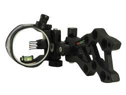 TRUGLO Rival Hunter 5-Pin Bow Sight .019 Diameter Pins Black