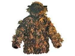 Shannon Men's 3-D Big Leaf Bug Tamer Plus Parka with Face Shield Polyester