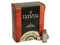 Federal Premium Personal Defense Ammunition 40 S&W 180 Grain Jacketed Hollow Point Box of 20