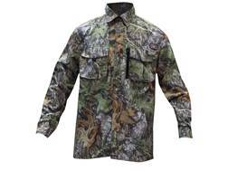 10X Men's Ultra-Lite Shirt Long Sleeve Polyester Ripstop Mossy Oak Obsession Medium 38-40