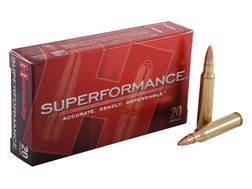 Hornady SUPERFORMANCE Ammunition 5.56x45mm NATO 55 Grain GMX Boat Tail Lead-Free Box of 20