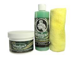 FrogLube Dual Kit CLP Bio-Based Cleaner, Lubricant, and Preservative 8 oz Liquid and FrogLube CLP Bio-Based 8 oz Paste