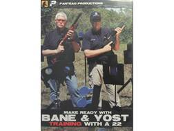 """Panteao """"Make Ready with Bane & Yost: Training with a 22"""" DVD"""