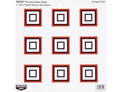 "Birchwood Casey Rigid 12"" Precision Squares Tagboard Target Package of 10"